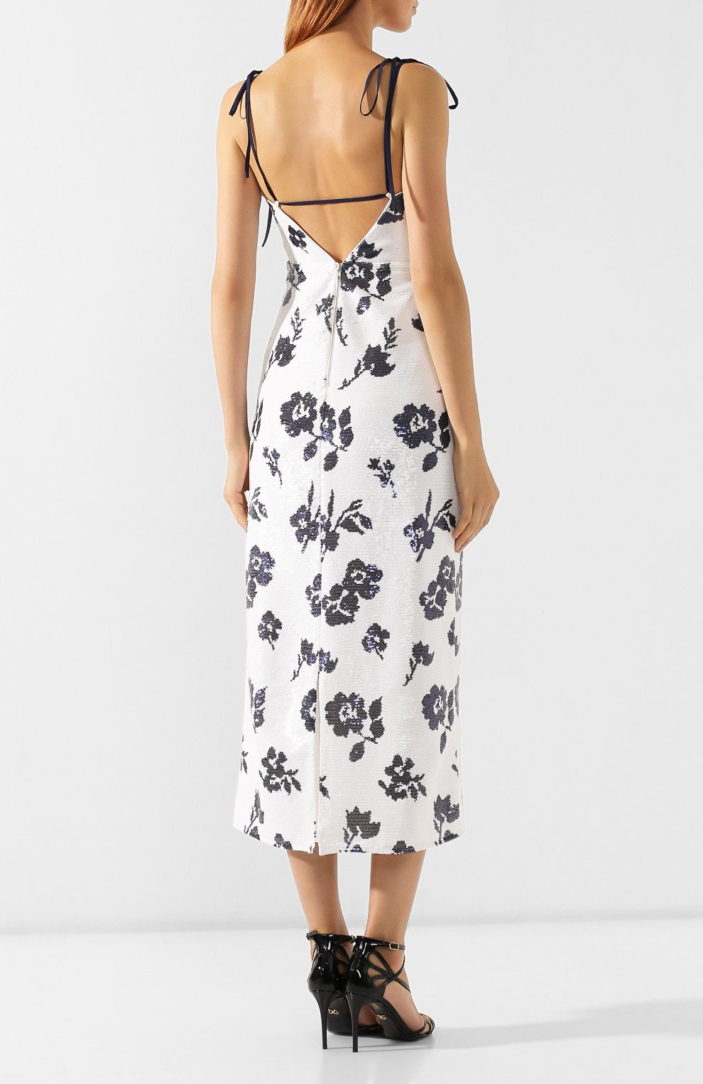 Платье с пайетками | Фото №4