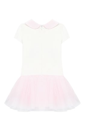 Женский платье MONNALISA белого цвета, арт. 314902SI | Фото 2