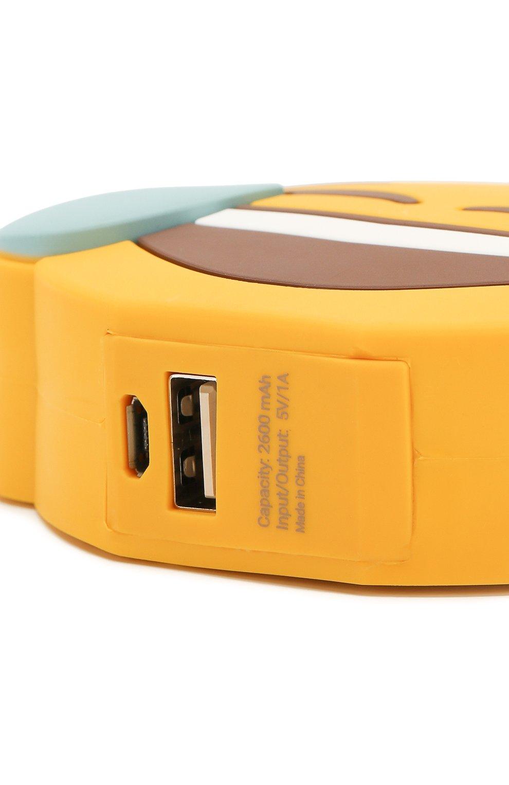 Портативный аккумулятор joy MOJI POWER желтого цвета, арт. MP001JO   Фото 3 (Статус проверки: Проверена категория)
