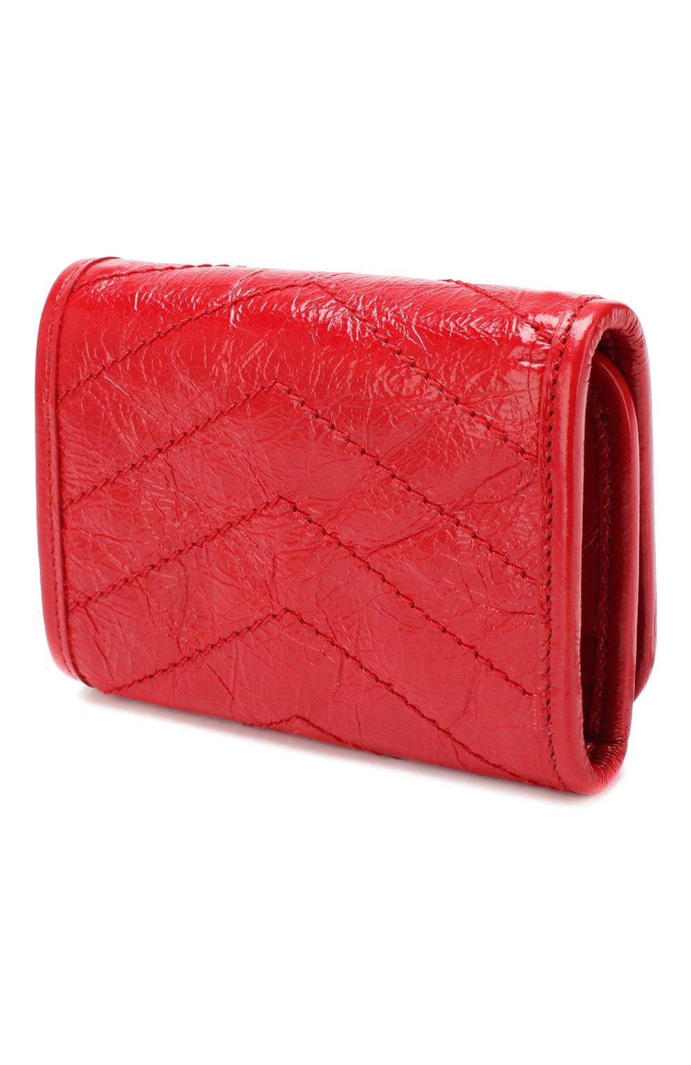 Женские кожаное портмоне niki SAINT LAURENT красного цвета, арт. 583570/0EN04 | Фото 2