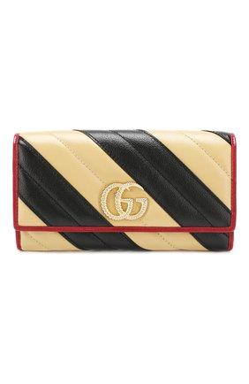 Кожаный кошелек GG Marmon | Фото №1