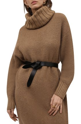 Женский кожаный пояс lecce ISABEL MARANT черного цвета, арт. CE0112-00M004A/LECCE | Фото 2