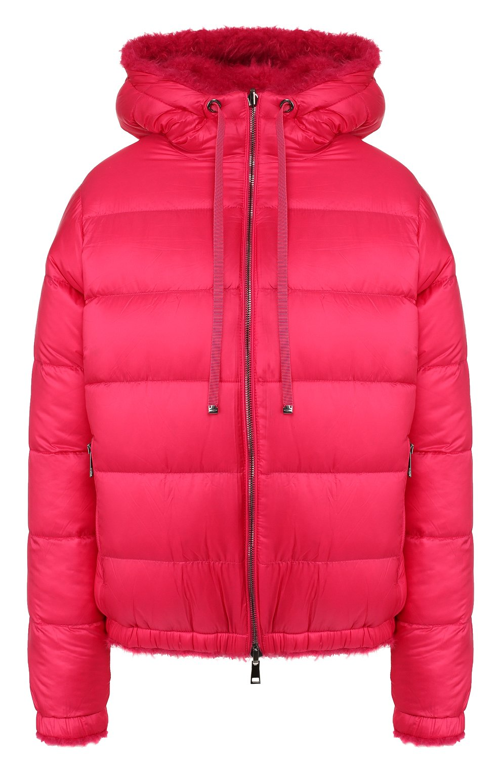 Женский куртка moncler kolima MONCLER розового цвета, арт. E2-093-46402-10-C0207 | Фото 1