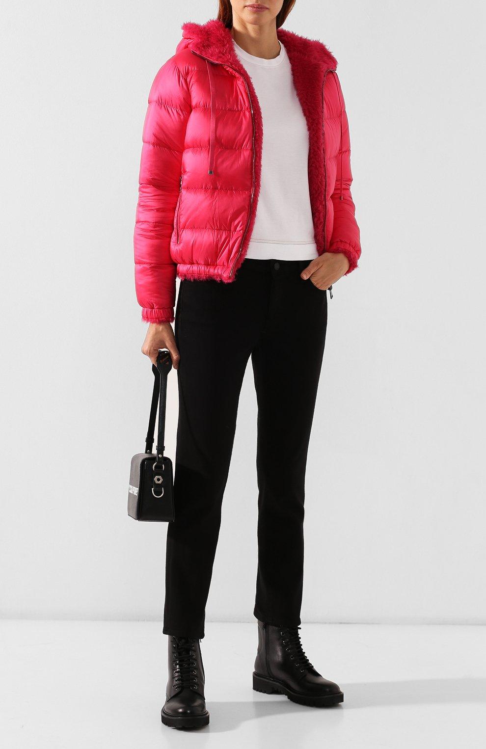 Женский куртка moncler kolima MONCLER розового цвета, арт. E2-093-46402-10-C0207 | Фото 2
