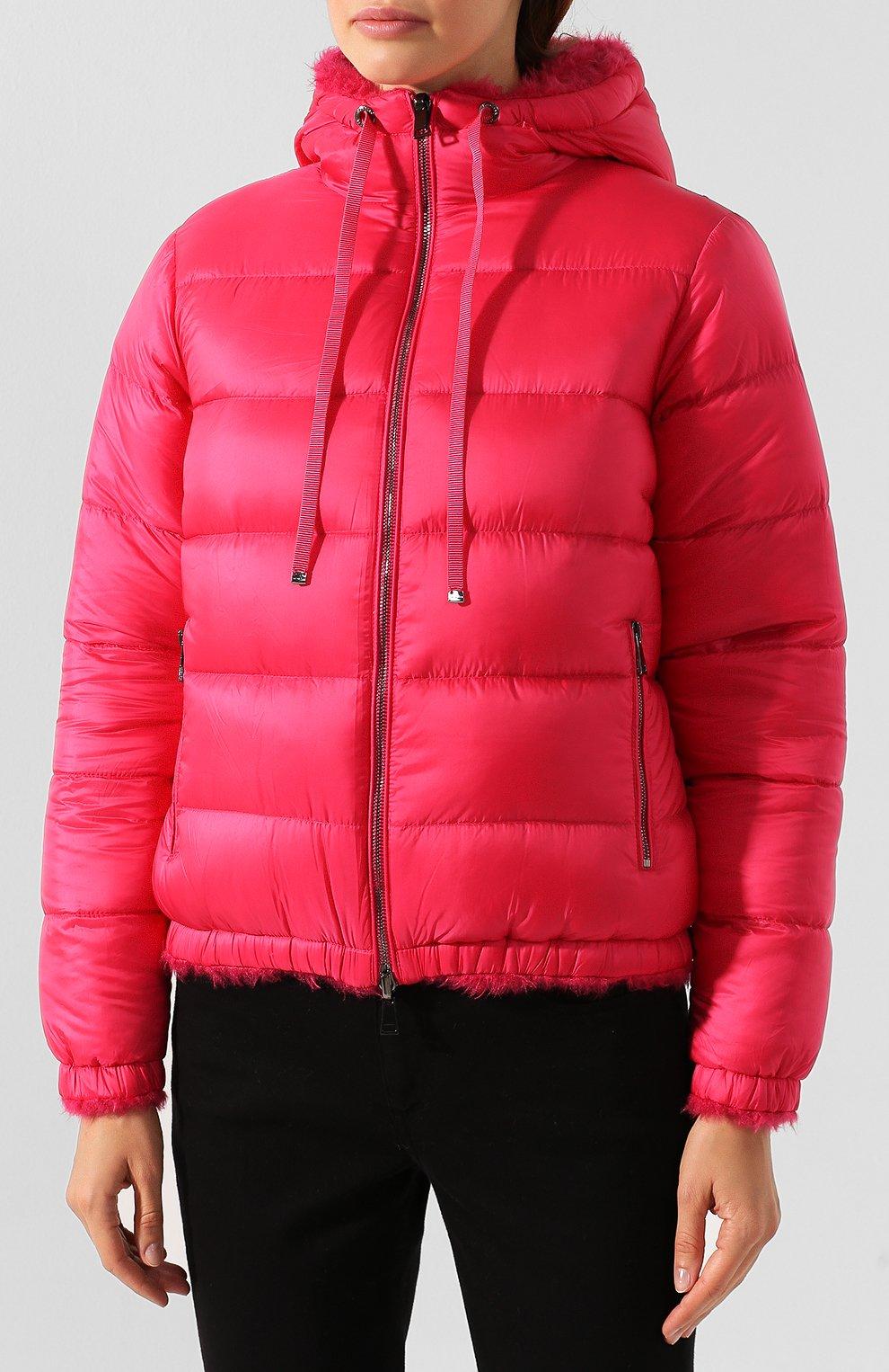 Женский куртка moncler kolima MONCLER розового цвета, арт. E2-093-46402-10-C0207 | Фото 3