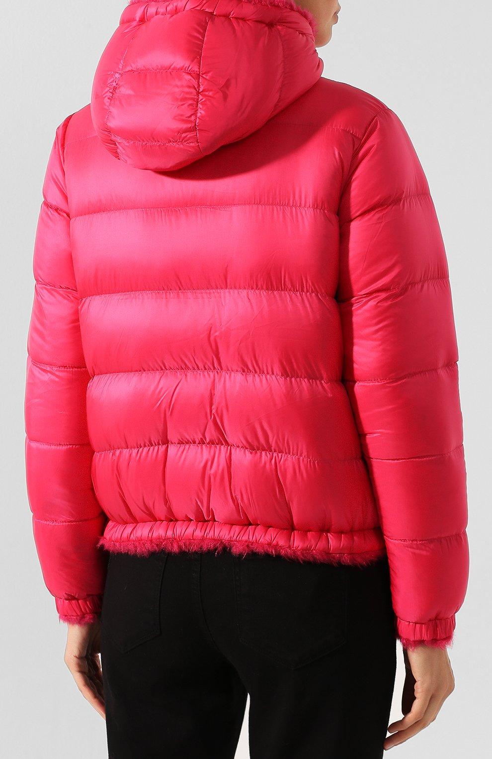 Женский куртка moncler kolima MONCLER розового цвета, арт. E2-093-46402-10-C0207 | Фото 4
