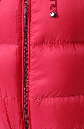 Женский куртка moncler kolima MONCLER розового цвета, арт. E2-093-46402-10-C0207 | Фото 5