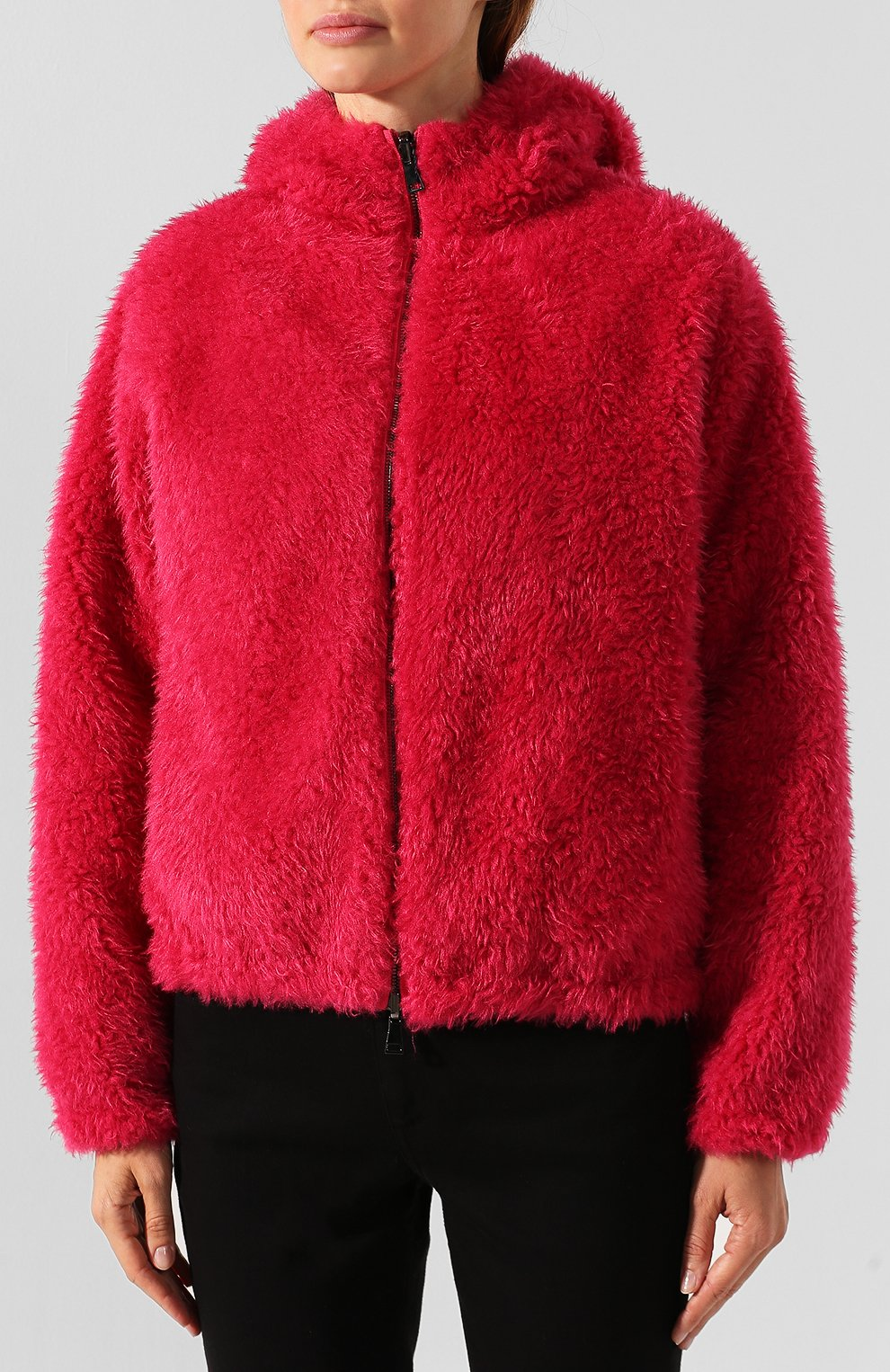 Женский куртка moncler kolima MONCLER розового цвета, арт. E2-093-46402-10-C0207 | Фото 6
