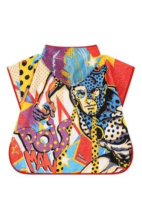 Детского полотенце-пончо DOLCE & GABBANA разноцветного цвета, арт. LNJA72/G7SZV | Фото 2