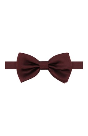 Мужской шелковый галстук-бабочка DOLCE & GABBANA бордового цвета, арт. GR053E/G0UAI | Фото 1