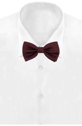 Мужской шелковый галстук-бабочка DOLCE & GABBANA бордового цвета, арт. GR053E/G0UAI | Фото 2