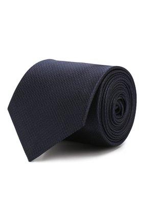 Мужской шелковый галстук GUCCI синего цвета, арт. 571780/4E002 | Фото 1