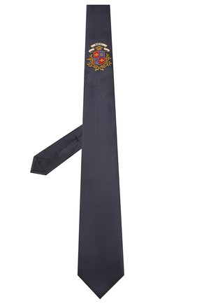 Мужской шелковый галстук GUCCI синего цвета, арт. 571780/4E002 | Фото 2