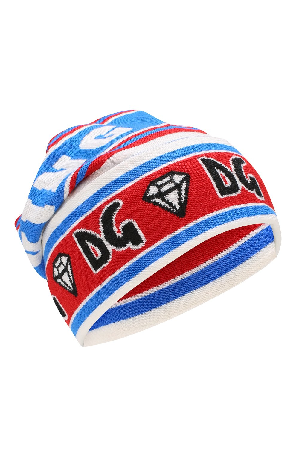 Мужская шерстяная шапка DOLCE & GABBANA разноцветного цвета, арт. GX458T/JAMSZ | Фото 1