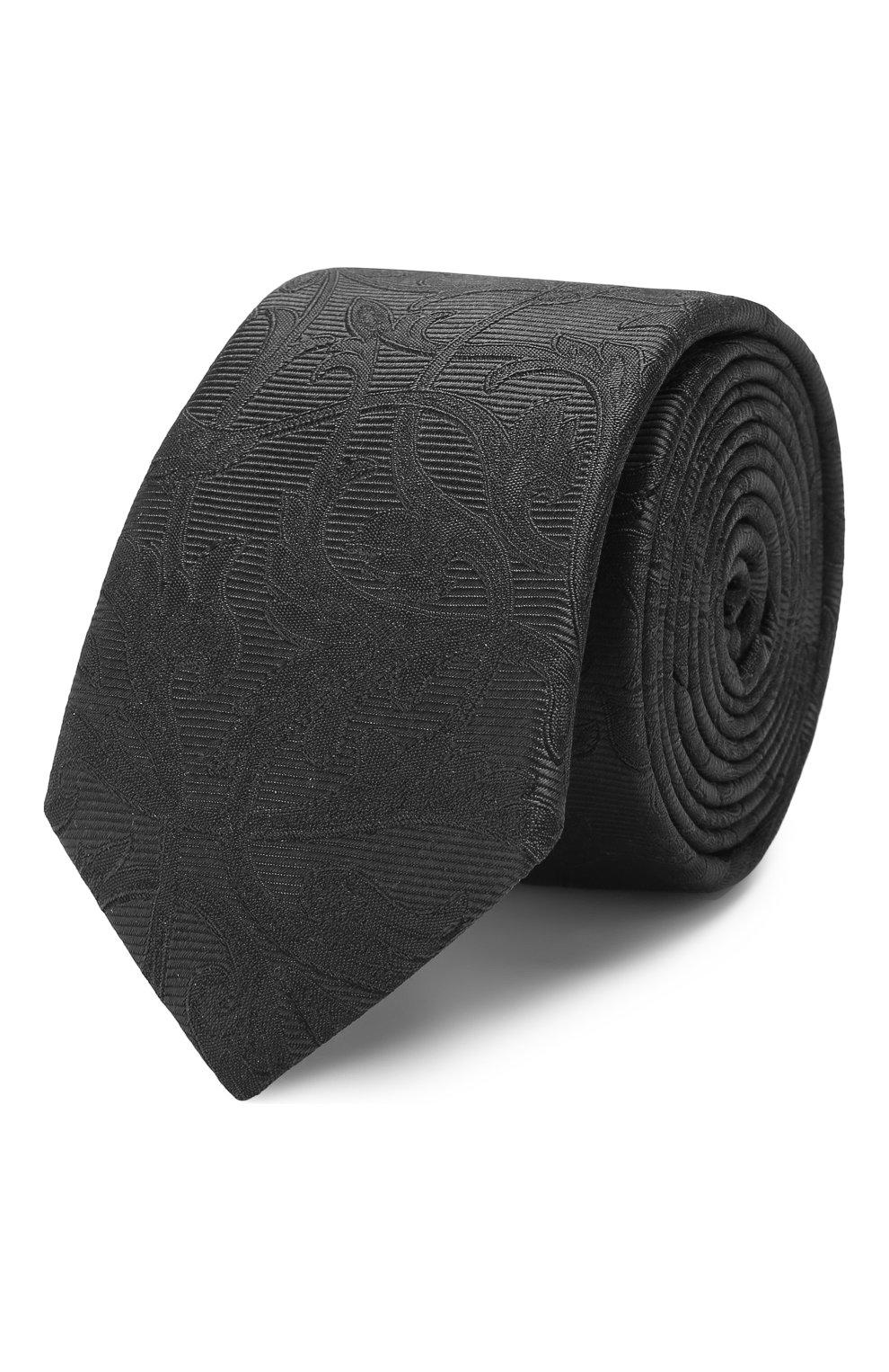 Мужской шелковый галстук DOLCE & GABBANA серого цвета, арт. GT149E/G0JKC | Фото 1