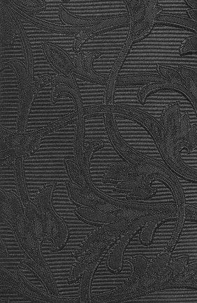 Мужской шелковый галстук DOLCE & GABBANA серого цвета, арт. GT149E/G0JKC | Фото 3