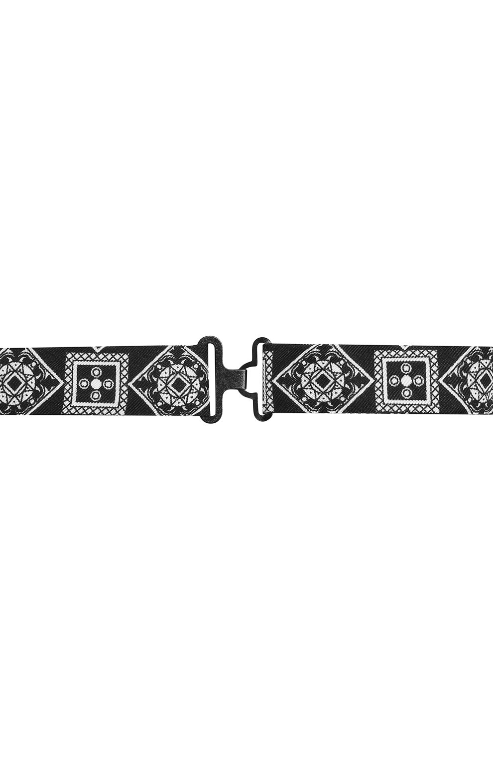 Мужской шелковый галстук-бабочка DOLCE & GABBANA черного цвета, арт. GR053E/G0WKN   Фото 3
