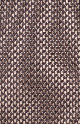 Мужской шелковый галстук BRIONI коричневого цвета, арт. 062I00/08452 | Фото 3