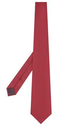 Мужской шелковый галстук BRIONI красного цвета, арт. 062I00/08447 | Фото 2