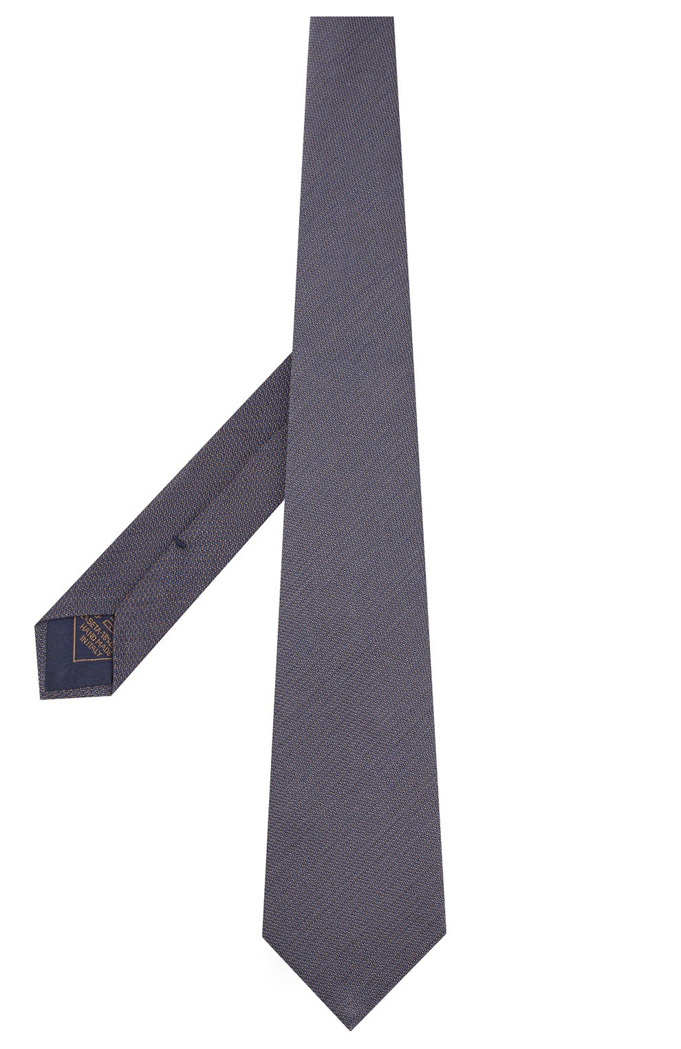 Мужской галстук из смеси шелка и шерсти BRIONI коричневого цвета, арт. 062I00/08438 | Фото 2