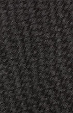 Мужской шелковый галстук BRIONI черного цвета, арт. 062I00/08435 | Фото 3