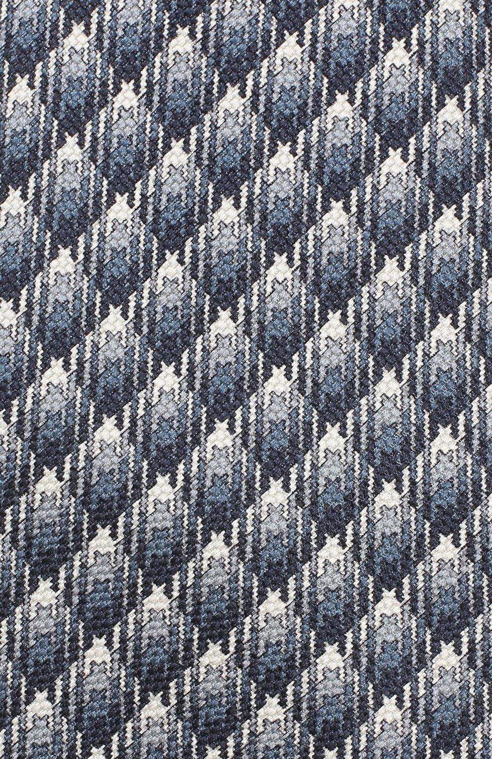 Мужской шелковый галстук BRIONI синего цвета, арт. 062H00/08485 | Фото 3