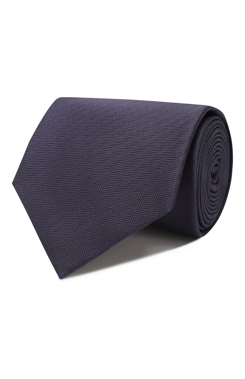 Мужской шелковый галстук BRIONI темно-синего цвета, арт. 062H00/08435 | Фото 1