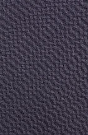 Мужской шелковый галстук BRIONI темно-синего цвета, арт. 062H00/08435 | Фото 3