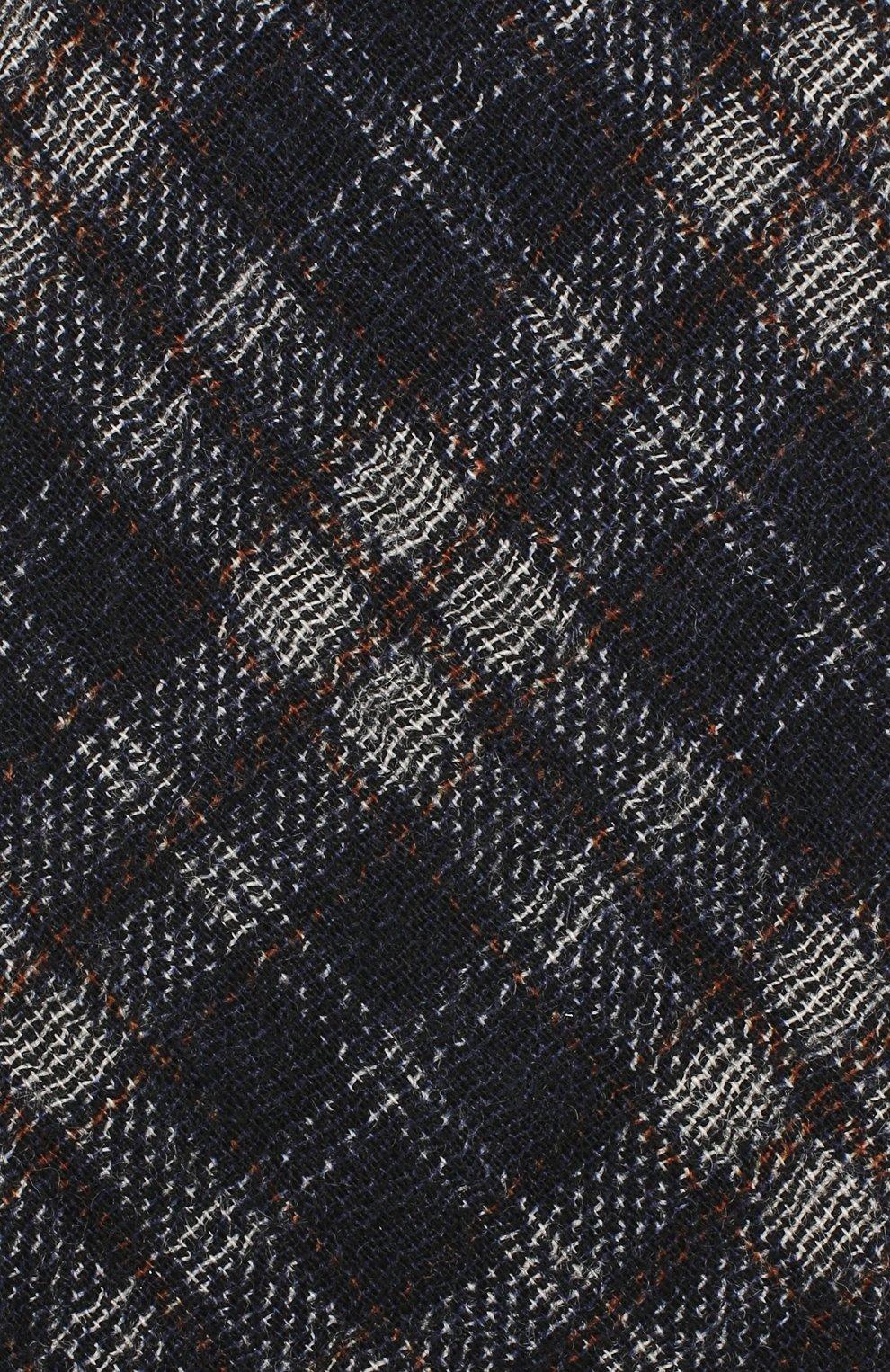 Мужской шерстяной галстук BRIONI синего цвета, арт. 061D00/08488 | Фото 3