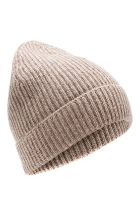 Мужская шапка из смеси шерсти и кашемира BRIONI коричневого цвета, арт. 04M40L/08K30 | Фото 1