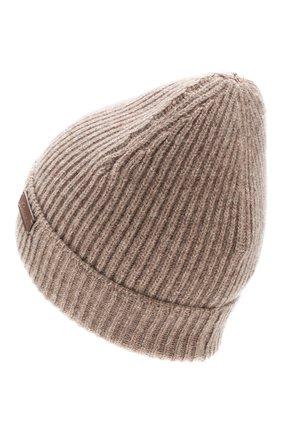 Мужская шапка из смеси шерсти и кашемира BRIONI коричневого цвета, арт. 04M40L/08K30 | Фото 2