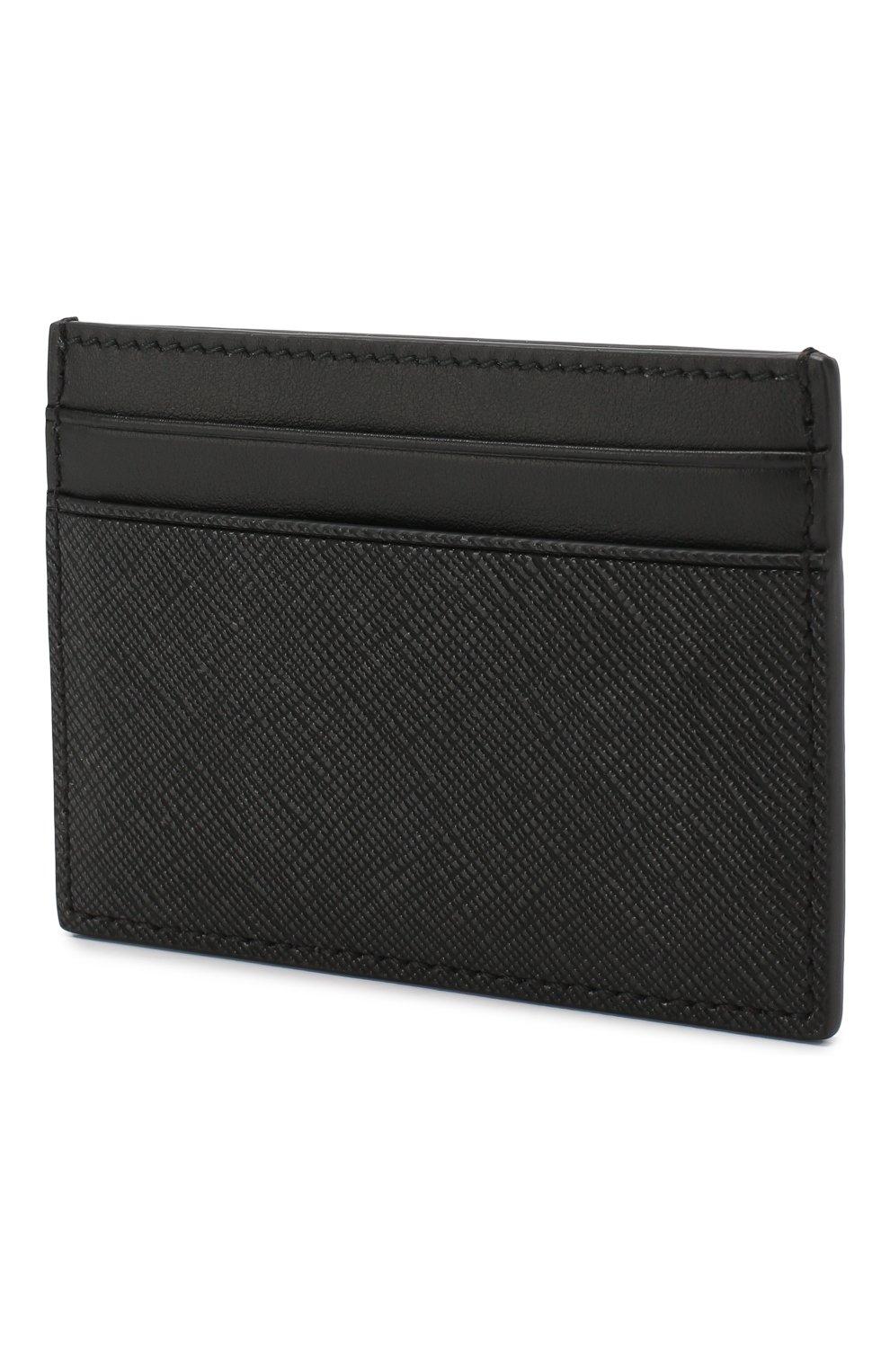 Мужской чехол для кредитных карт BALLY черного цвета, арт. BHAR.0F/30 | Фото 2