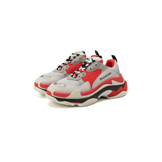 Комбинированные кроссовки Triple S Balenciaga — Комбинированные кроссовки Triple S