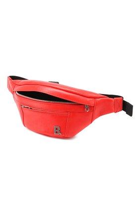 Поясная сумка Soft XS Balenciaga красная | Фото №4