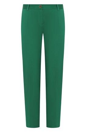 Женские хлопковые брюки DOLCE & GABBANA зеленого цвета, арт. FTAGNT/FUFIS | Фото 1