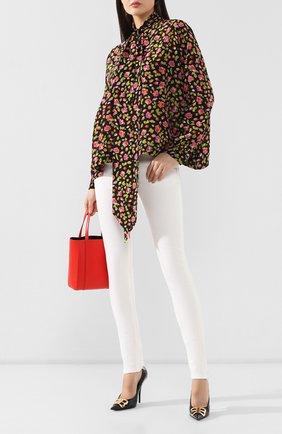 Женские джинсы BALENCIAGA белого цвета, арт. 583459/TFW06 | Фото 2