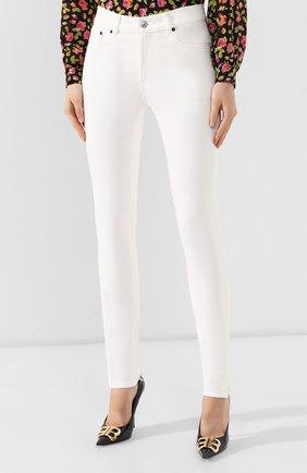 Женские джинсы BALENCIAGA белого цвета, арт. 583459/TFW06 | Фото 3