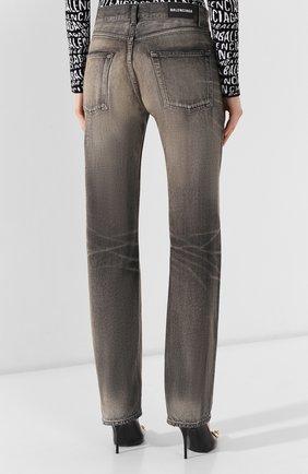 Женские джинсы BALENCIAGA черного цвета, арт. 583243/TEW05 | Фото 4