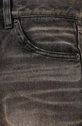 Женские джинсы BALENCIAGA черного цвета, арт. 583243/TEW05 | Фото 5