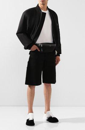 Мужская поясная сумка SAINT LAURENT черного цвета, арт. 557831/GIVLE | Фото 2