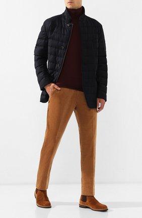 Куртка из смеси шерсти и шелка | Фото №2