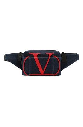 Текстильная поясная сумка Valentino Garavani VLOGO | Фото №1