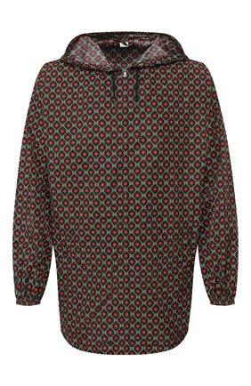 Мужская куртка GUCCI разноцветного цвета, арт. 574201/ZABVU | Фото 1 (Мужское Кросс-КТ: Куртка-верхняя одежда, Верхняя одежда; Статус проверки: Проверено; Длина (верхняя одежда): До середины бедра; Материал внешний: Синтетический материал; Рукава: Длинные; Кросс-КТ: Куртка, Ветровка)