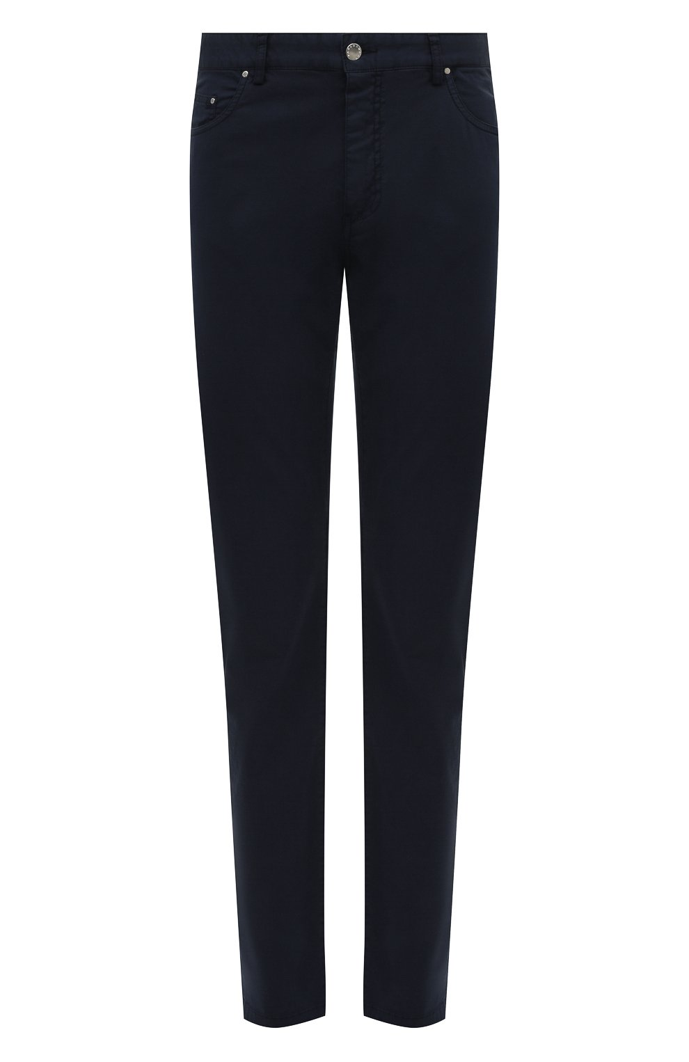 Мужские хлопковые брюки PAUL&SHARK синего цвета, арт. C0P4001/FEF | Фото 1