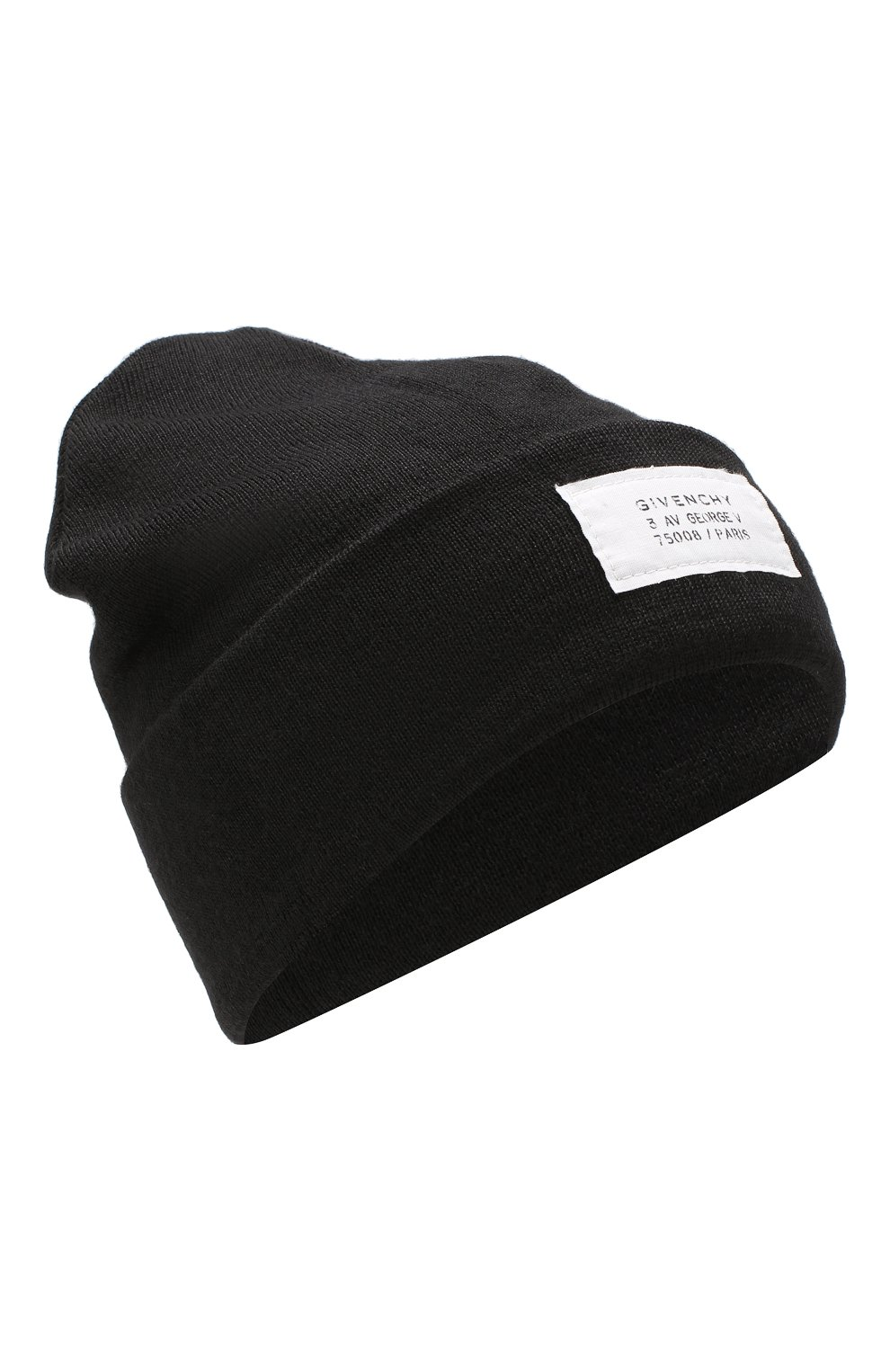Мужская шапка GIVENCHY черного цвета, арт. GVCAPP/U1598 | Фото 1