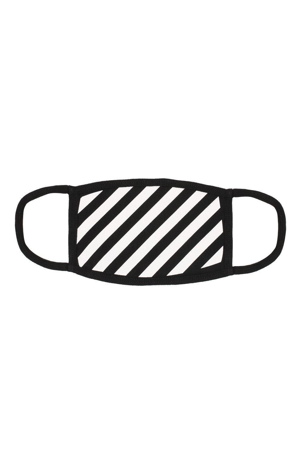 Мужская хлопковая маска для лица OFF-WHITE белого цвета, арт. 0MRG001E191850280110 | Фото 1