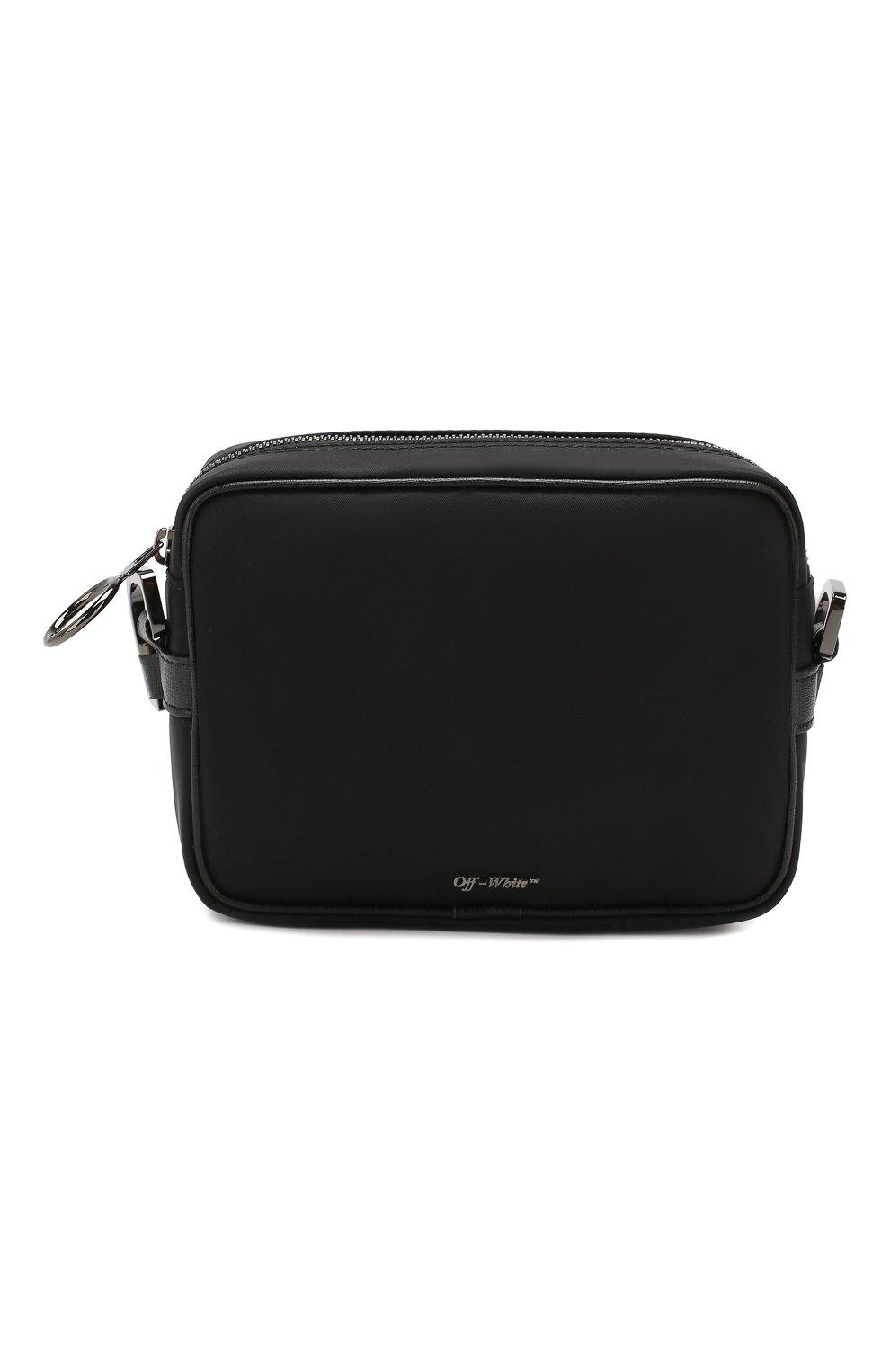 Мужская сумка OFF-WHITE черного цвета, арт. 0MNA049E19E480021000 | Фото 1