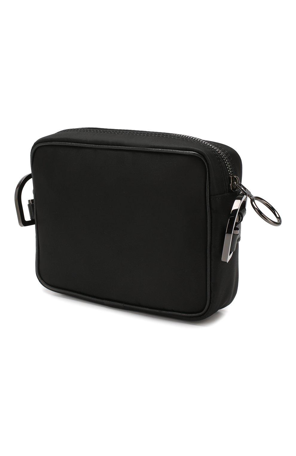 Мужская сумка OFF-WHITE черного цвета, арт. 0MNA049E19E480021000 | Фото 3