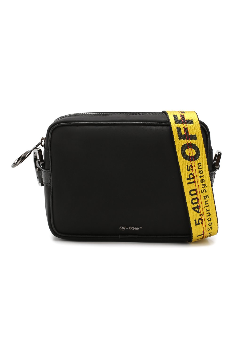Мужская сумка OFF-WHITE черного цвета, арт. 0MNA049E19E480021000 | Фото 5