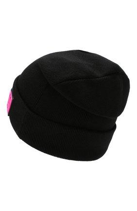 Мужская шерстяная шапка OFF-WHITE черного цвета, арт. 0MLC004E190200021000   Фото 2